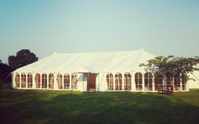 "Our ""OT2800 Marquee"" in the sunshine"