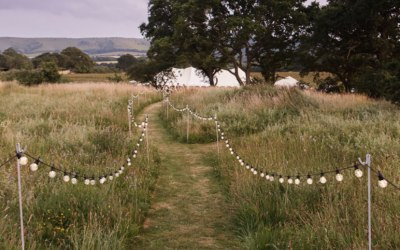 Festoon path