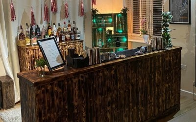 Mobile Cocktail Bar For A House Party