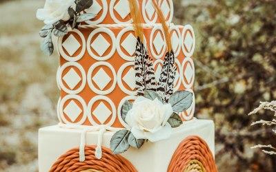 70's style wedding