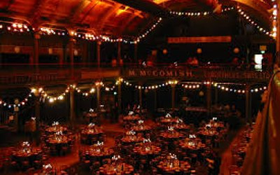 Barn converted for guests of 150 - with stage