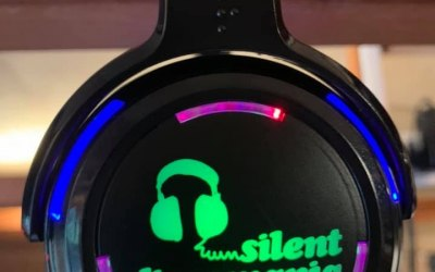 Here are our flashing headsets they come in 2 or 3 channels and change colour depending on what channel the wearer is listening to, GREEN,RED OR BLUE :)