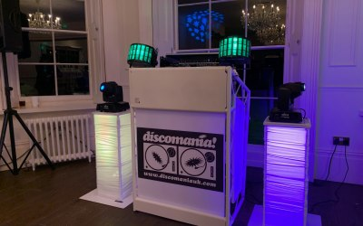 We also provide speaker disco's or you can have a combination of both Speaker and Silent