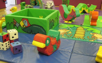 Jungle ball pit and soft play (small)