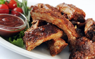 Lovely Ribs straight off the Barbecue