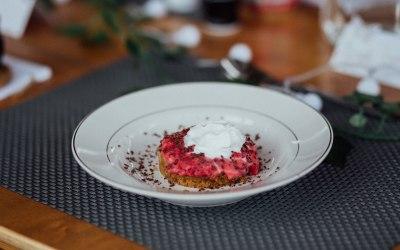 Raspberry & Vanilla Cheesecake