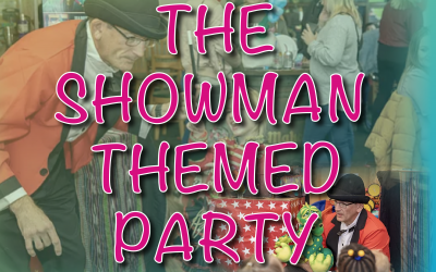 Showman themed party package
