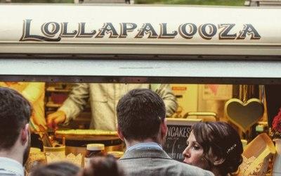 Hi from the Lollapalooza HY van