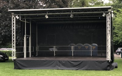 8M x 6M Pop-up stage