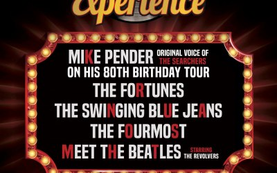 2020/21 Sensational 60s Experience Tour lineup