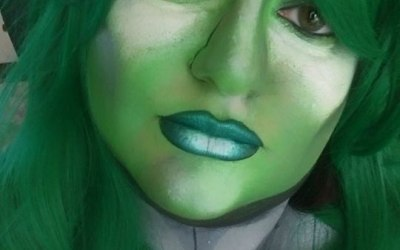 Cosplay. She-Hulk. Face Painting. Body Painting. Impeccable Parties. Coventry Face Painter. Warwickshire Face Painter