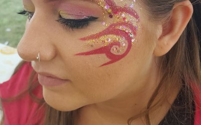 Tribal Festival. Face Painting. Impeccable Parties. Coventry. Warwickshire