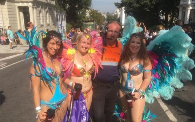 Notting Hill Carnival security for 8 years