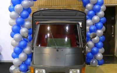 Piaggio Ape Coffee van, coffee cart, tuk-tuk coffee