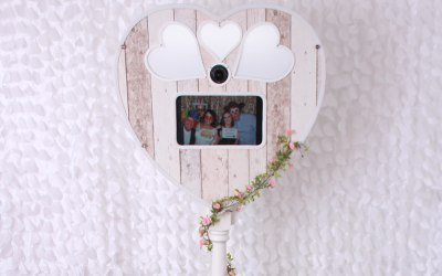 The Story Rustic Heart Photobooth