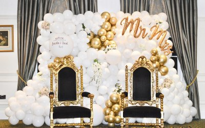 Wedding Balloon Wall