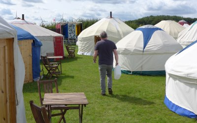 Yurts and Bell Tent Glamping Villages for weddings, parties and private events