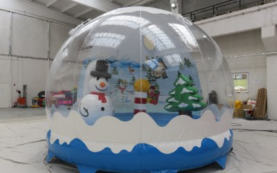 Bouncy Snow Globe