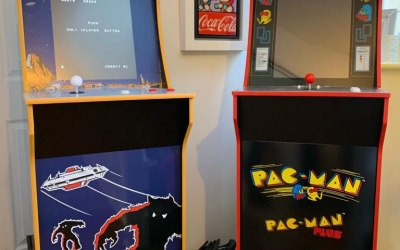 Space Invaders & Pac Man