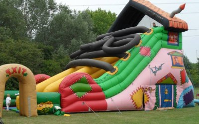 Giant Boot Slide