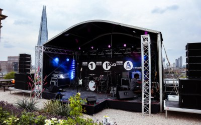 Full stage production for BBC Radio 1 & Friends