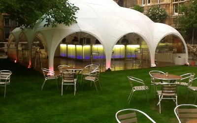 Hector's Haus dome marquee London