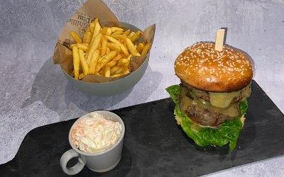 Classic handmade burger