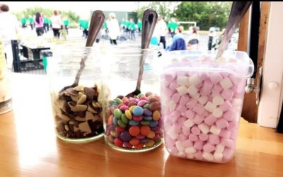Yummy toppings