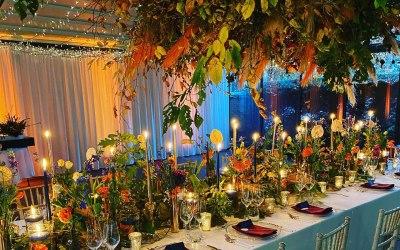 Autumnal Wedding Zoe and John