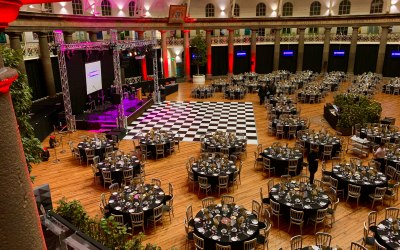 We offer full event production.
