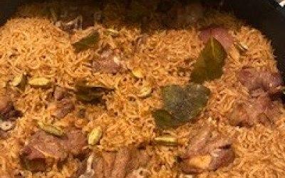 Kabsa Lamb Rice