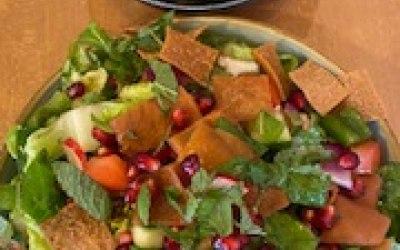 Fattoush Salad & Olives