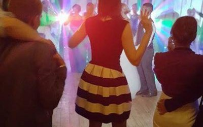 Elite Discos supplying a disco for an 18th birthday