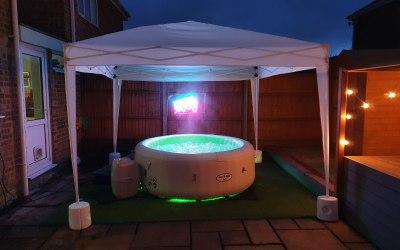 hampshire hot tub hire