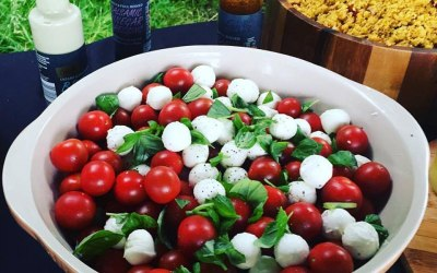 Tomato, Mozzarella, Basil and Olive Oil for that perfect summer touch