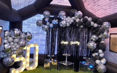 Large 4ft led light up numbers