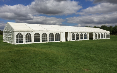 Exhibition tent for festival