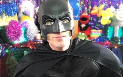 BAT-MAN - Batman superhero to the rescue!