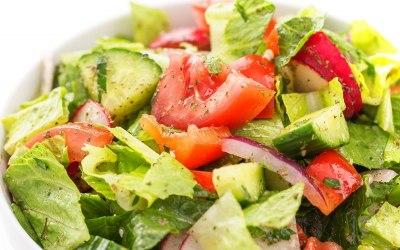 beautiful summer salad