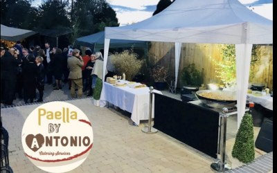 Paella birthday celebration London