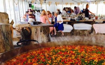 Paella wedding Cambridge