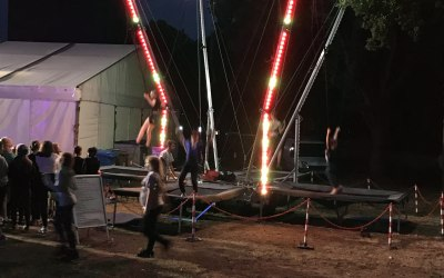 Bungee  trampolines sortable from 1 meter high up to  70 kg