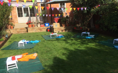Parties in your garden from 17th May