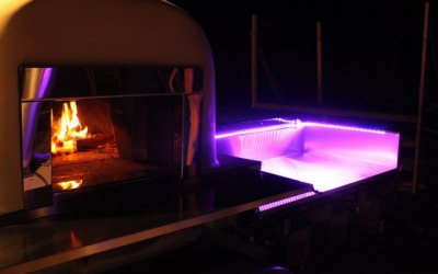 Mobile pizza oven - Lighting up your event Flame Wood Fired Catering