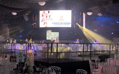 Firefly designed, supplied and project managed Leeds United Centenary Celabrations over four days.