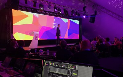 Desinging and supplying equipment and technical support for a large corporate event.