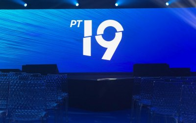 Another custom LED screen for a corporate event