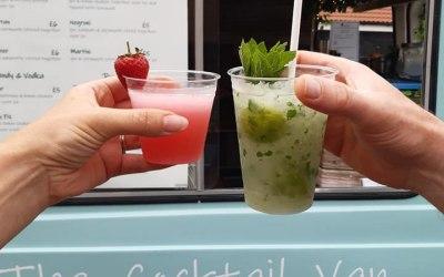 Freshly made cocktails