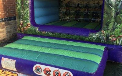 Fantasy Themed Bouncy Castle
