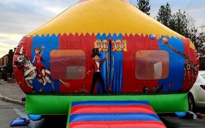 Family circus castle